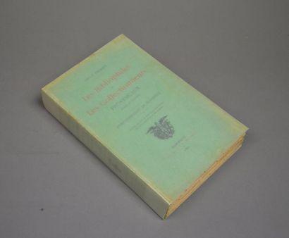 PERRIER (Émile). Les Bibliophiles et les collectionneurs provençaux anciens et modernes....