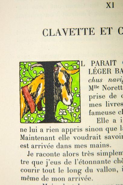 ARÈNE (Paul). La Chèvre d'or. Marseille, Les Bibliophiles de Provence, 1931. Petit...