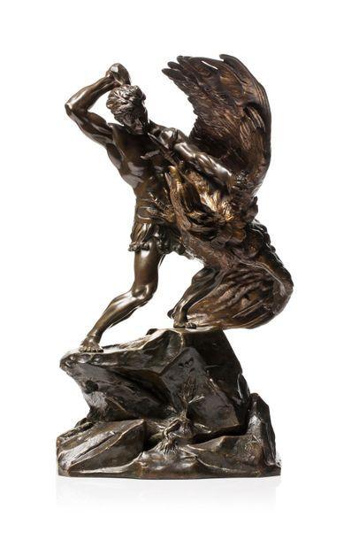 Demeter CHIPARUS (1885-1947) La lutte de...