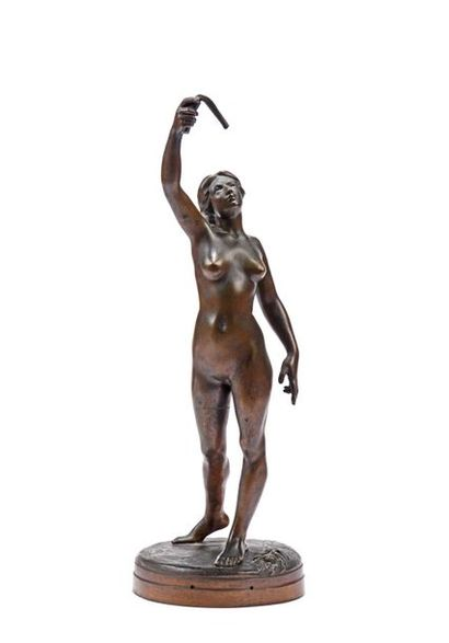 Gustave DUSSART (1875-1952) Femme nue en...