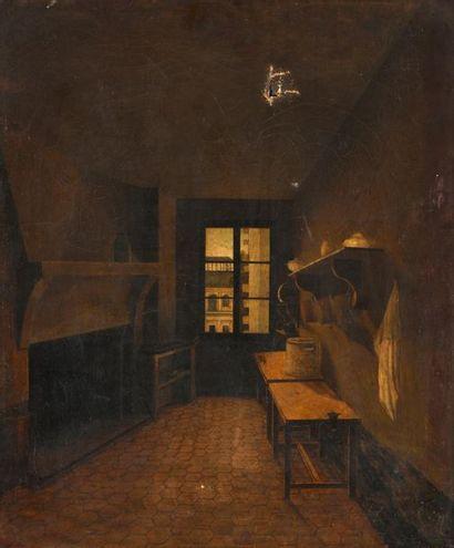 Ecole FRANCAISE du XIXème siècle Intérieur...