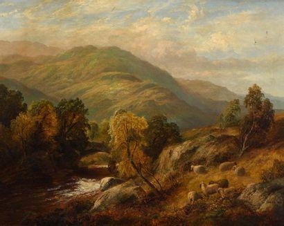 Thomas WHITTLE (1803 - 1887) L'été dans les...