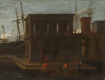 Ecole ITALIENNE du XVIIIème siècle, suiveur...
