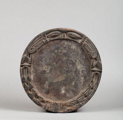 Plateau de divination circulaire présentant...