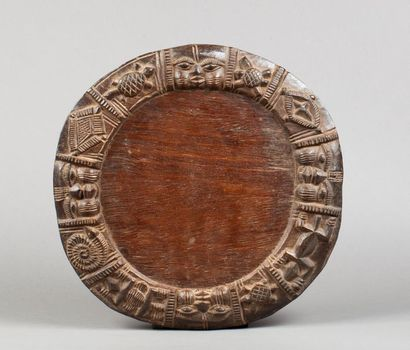 Plateau circulaire de divination présentant...
