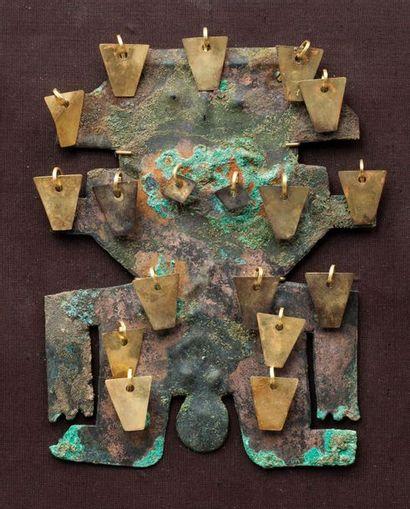 Figure cérémoniale présentant un chamane...