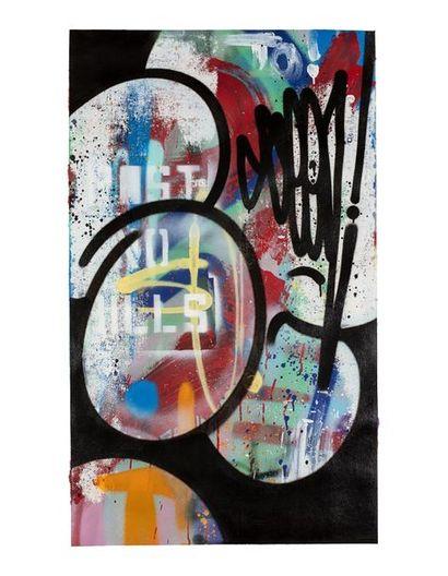 SEEN (né en 1961) Sans titre, 2018 Acrylique...