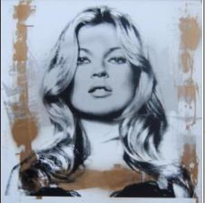 MR.BRAINWASH (né en 1966) Kate Moss, 2014...