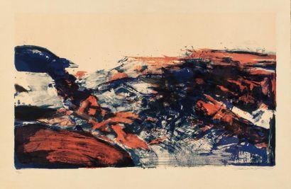 Zao WOU-KI (1921-2013) A la gloire de l'image...