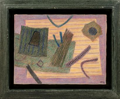 Henri GOETZ (1909-1989) Composition, circa...
