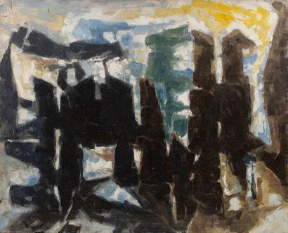 Paul KALLOS (1928-2001) Composition, 1957...