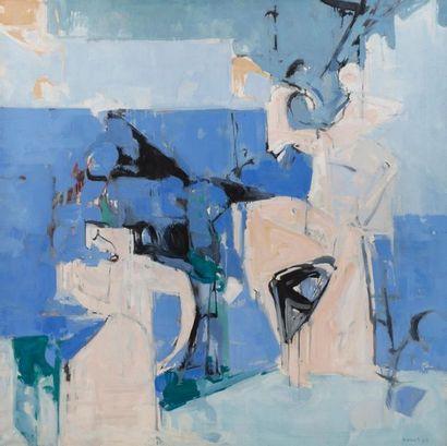 Paul KALLOS (1928-2001) Composition, 1963...