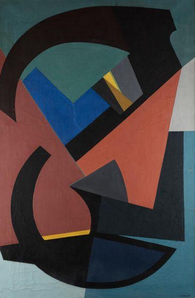 Edgard PILLET (1912-1996) Duo, 1950 Huile...