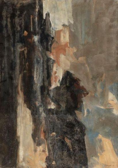 Paul KALLOS (1928-2001) Composition, 1961...