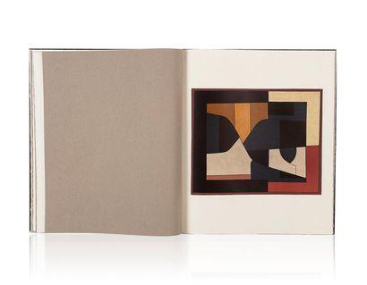 Victor VASARELY (1906-1997) Octal, 1972 Ensemble de neuf chromolithographies sur...