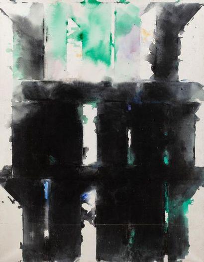 Paul KALLOS (1928-2001) Composition, 1988...