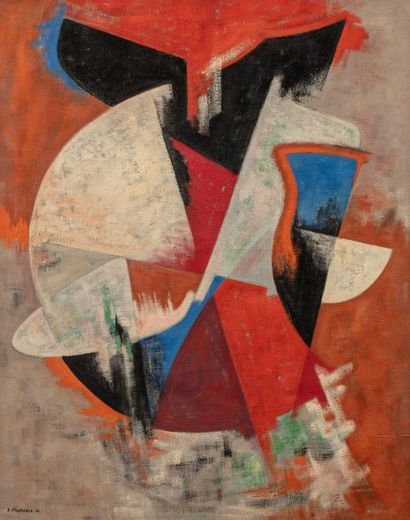 James PICHETTE (1920-1996) Composition, 1955...
