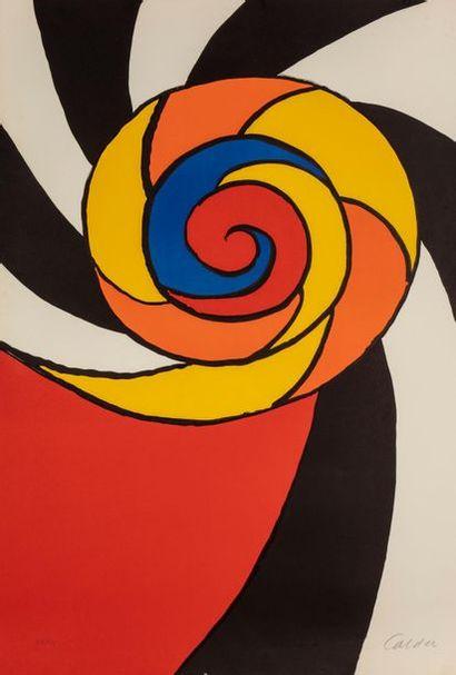 Alexander CALDER (1898-1976) Turban, 1969...