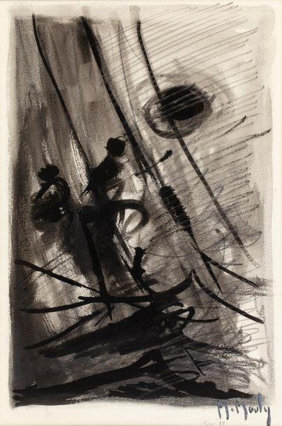 Marcel MOULY (1918 - 2008) Sans titre, 1999...