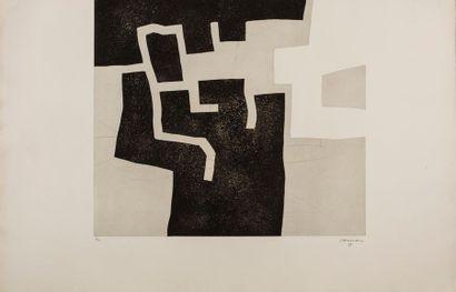 Eduardo CHILLIDA (1924-2002) Ahoska II, 1973...