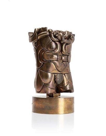 Miguel BERROCAL (1933-2006) Goliath, 1968-1972 Laiton poli, sculpture de 79 éléments...