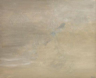 Claude BELLEGARDE (né en 1927) Les apparences, 1956 Huile sur toile signée en bas...