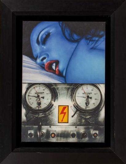 Peter KLASEN (né en 1935) Blue Dream / Refroidis,...