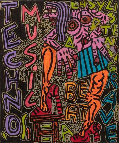 Robert COMBAS (né en 1957) TECHNO Music =A...