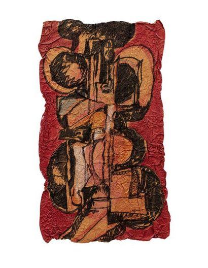 Ladislas KIJNO (1921-2012) Sans titre Acrylique...