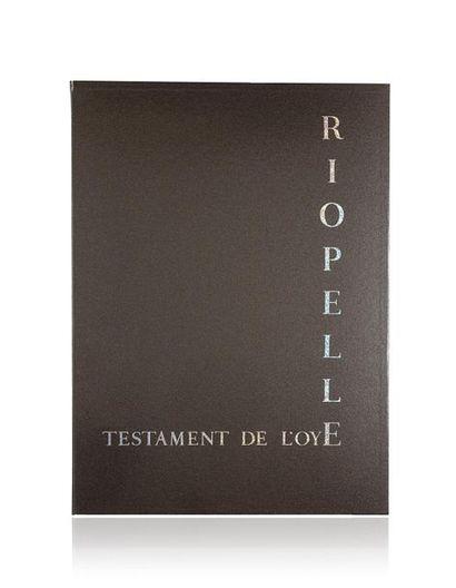 Jean-Paul RIOPELLE (1923-2002) Testament...