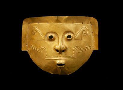 *Masque de cérémonwie d'un seigneur chamane...