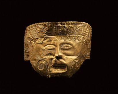 *Masque de cérémonie d'un seigneur chamane...
