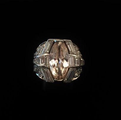 RECTIFICATIF : carat Bague en platine (950...