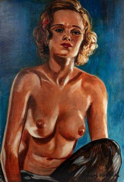 Francis PICABIA (Paris 1879 - 1953) Nue de...
