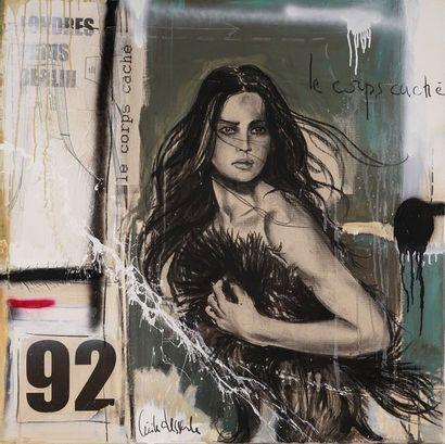 Cécile DESSERLE (Née en 1971)  Le corps caché...