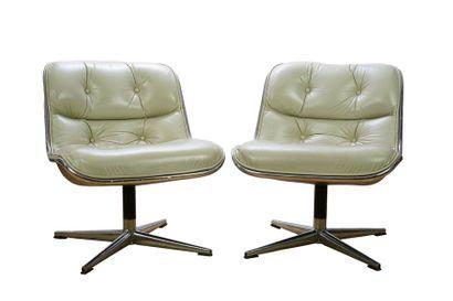 CHARLES POLLOCK (1930-2013) DESIGNER & KNOLL...