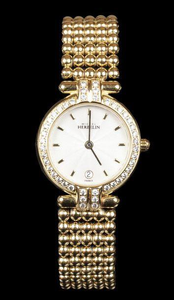 HERBELIN  Montre bracelet de dame en métal...