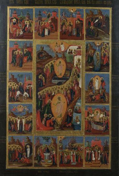 Grande icône des fêtes de l'année liturgique...