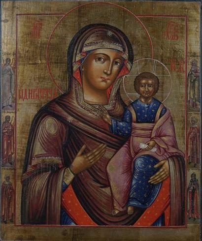 Grande icône de la Mère de Dieu Hodigitria...