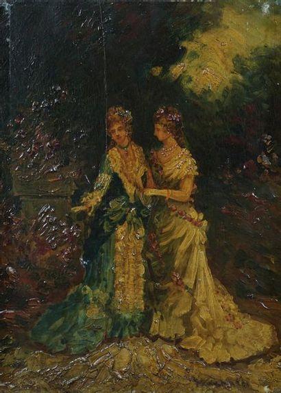 Attribué à Adolphe MONTICELLI (1824-1886)...