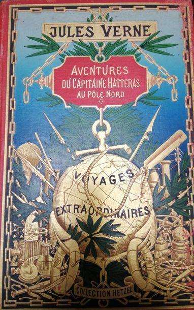 VERNE (Jules). Aventures du Capitaine Hatteras....