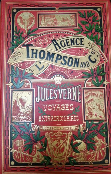 VERNE (Jules). L'Agence Thompson Co. Paris,...