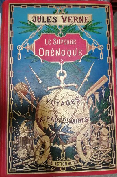 VERNE (Jules). Le Superbe Orénoque. Paris,...