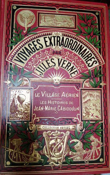 VERNE (Jules). Le Village aérien. Paris,...