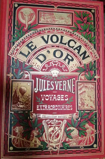 VERNE (Jules). Le Volcan d'Or. Paris, Hetzel,...