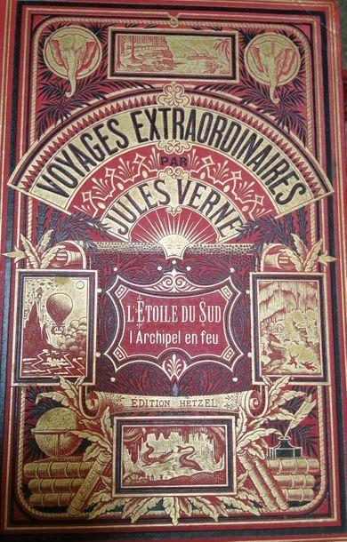 VERNE (Jules). L'Etoile du Sud. L'Archipel...