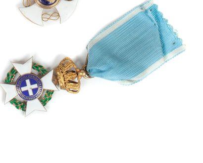 Grèce Ordre du Saint-Sauveur, 2e type, après...
