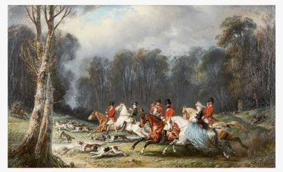 François-Gabriel LEPAULLE (1804-1886) Scène...