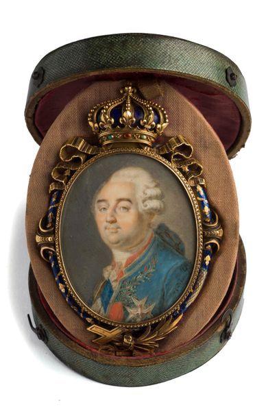 BOZE Joseph (1745-1826), attribué à. Portrait...