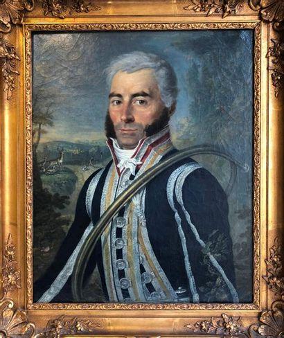 François-Gabriel LEPAULLE (1804-1886) Portrait...